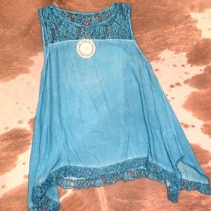 Umgee Shark Bite Tunic/Tank Medium NWT